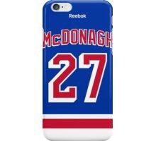 New York Rangers Ryan McDonagh Jersey Back Phone Case iPhone Case/Skin