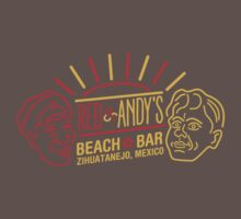 Red and Andy's Beach Bar, Zihuatanejo One Piece - Short Sleeve