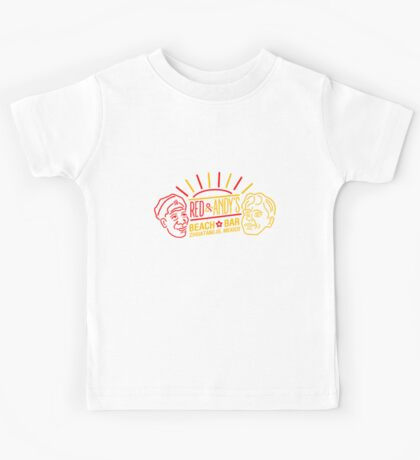 Red and Andy's Beach Bar, Zihuatanejo Kids Tee