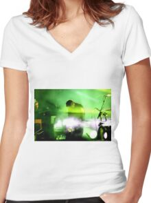 Sigur Ros  Women's Fitted V-Neck T-Shirt