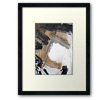 gray Framed Print