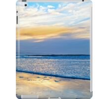 blue reflections and calm waves iPad Case/Skin