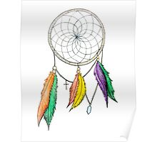 Dream Catcher Pencil Drawing Poster