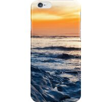 blue rocks at rocky beal beach iPhone Case/Skin