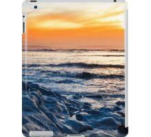 blue rocks at rocky beal beach iPad Case/Skin