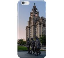 The Fab Four Walk Again iPhone Case/Skin