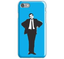 The genius of Mr Bean iPhone Case/Skin