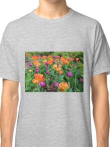 Colorful Tulip Display Classic T-Shirt