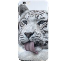 White Bengal Tiger (1) - colour version iPhone Case/Skin
