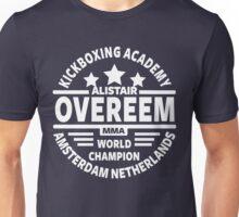 Alistair Overeem Kickboxing Academy Unisex T-Shirt