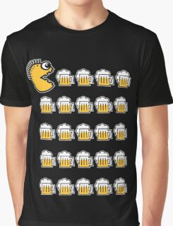 Beer Drinking Punk (3C) Graphic T-Shirt