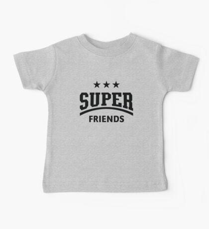Super Friends (Black) Baby Tee