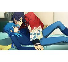 DRAMAtical Murder Koujaku and Aoba good end poster HD Photographic Print