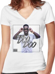 Troy Ave Women's Fitted V-Neck T-Shirt