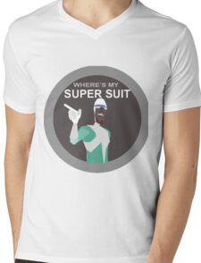 Frozone-Incredibles Mens V-Neck T-Shirt