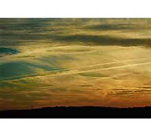 tiger striped sky Photographic Print
