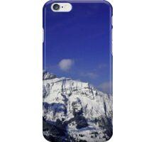 Shilthorn Winter Scene iPhone Case/Skin