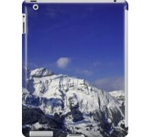 Shilthorn Winter Scene iPad Case/Skin