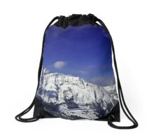 Shilthorn Winter Scene Drawstring Bag