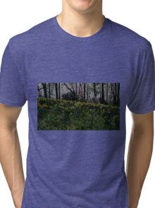 Daffodils at Dusk Tri-blend T-Shirt