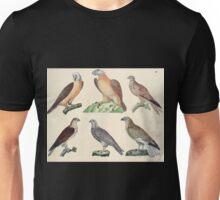 Naturgeschichte in Bildern mit erläuterndem Text E Strack 1820 Lief 2 Birds 004 Unisex T-Shirt