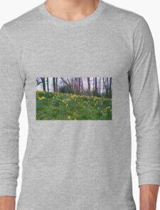 Daffodils Rising Long Sleeve T-Shirt