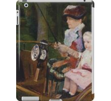 Mary Cassatt - A Woman and a Girl Driving 1881, American Impressionism  iPad Case/Skin