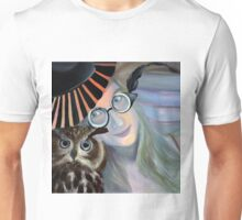 Who are you calling 4 eyes, 2011, 50-50cm, oil on canvas Unisex T-Shirt