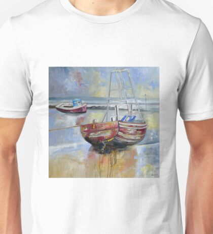 Cockle Boats, Morecambe Unisex T-Shirt