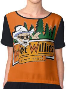 Welcome to Wet Willie´s Women's Chiffon Top