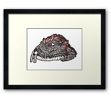Slither Vole (Gem Scale #1) Framed Print