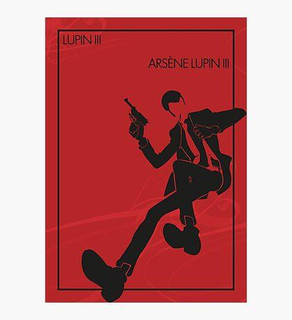 Lupin III Photographic Print
