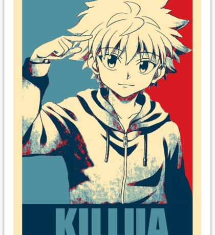 Hunter x Hunter-Killua Zoldyck Sticker
