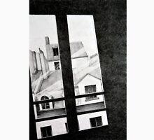 Through my Paris window, 2011, 50-70, crayon Unisex T-Shirt