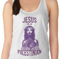 Jesus is a Palestinian Women's Tank Top