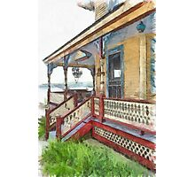 Victorian Cottage Weirs Beach Laconia New Hampshire Photographic Print