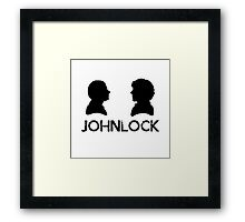 Johnlock Framed Print
