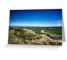 Theodore Roosevelt National Park 3 Greeting Card