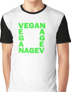Vegans are square Graphic T-Shirt