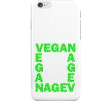Vegans are square iPhone Case/Skin