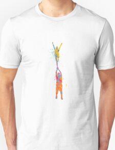 Cheer - Splatter Large Unisex T-Shirt