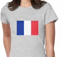 Guadeloupe & Martinique Flag Duvet Sticker T-Shirt Cell Phone Case Womens Fitted T-Shirt