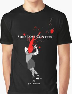 Joy Division: She's Lost Control Graphic T-Shirt