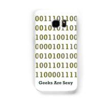 Geeks are Sexy - Binary Samsung Galaxy Case/Skin
