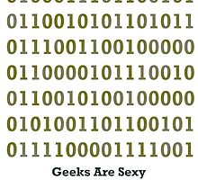 Geeks are Sexy - Binary by Jason Scott