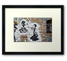Euro currency Framed Print