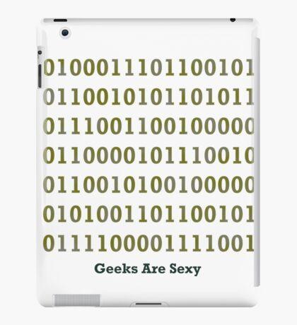 Geeks are Sexy - Binary iPad Case/Skin
