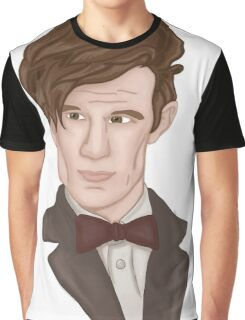 Doctor WHO 11 Eleventh Doctor Graphic T-Shirt