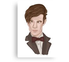 Doctor WHO 11 Eleventh Doctor Canvas Print