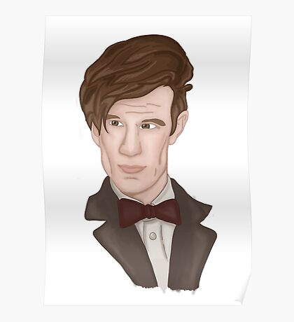 Doctor WHO 11 Eleventh Doctor Poster